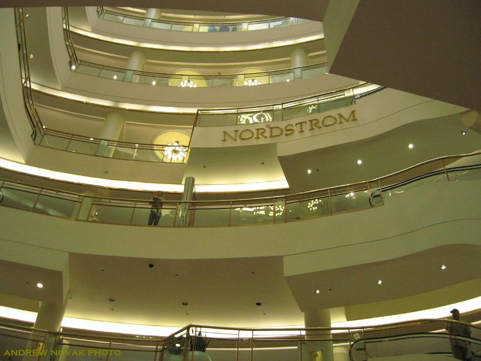 Nordstrom Interior of the Nordstrom store on August 7, 2007 (Andrew ...