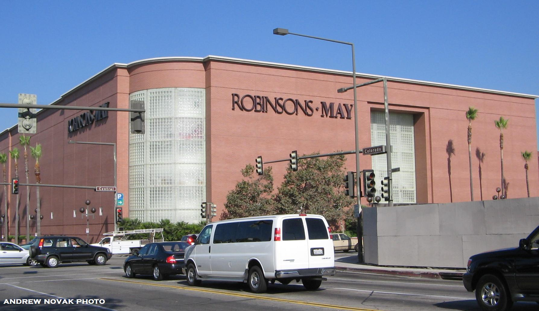 Robinsons may for The glendale